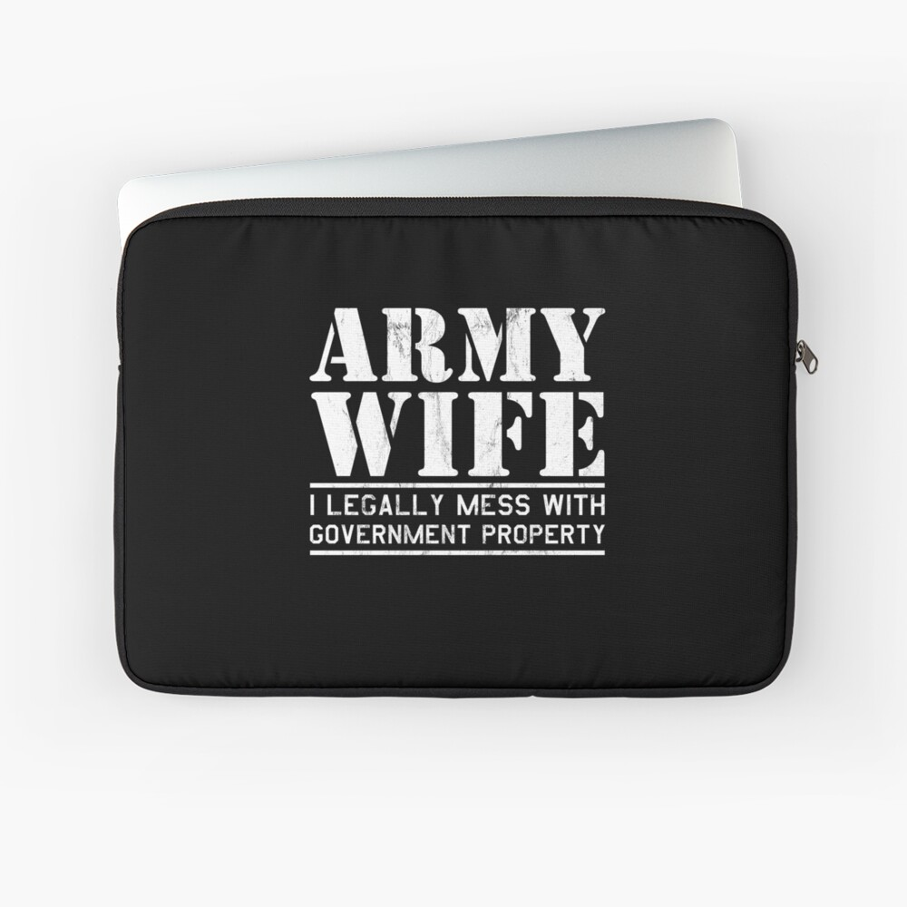 Cool Costume For Army Wife Gift Ideas From Husband Ipad Case Skin By Naughtydesigns Redbubble