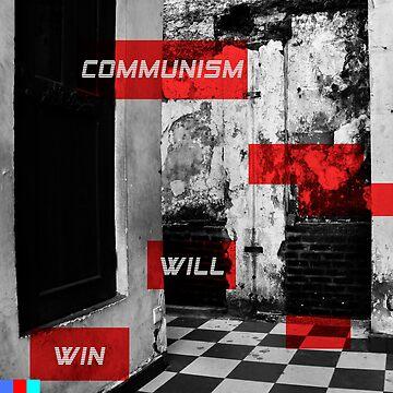 Communism Will Win Aesthetic 3 Hoodie by bartek030963