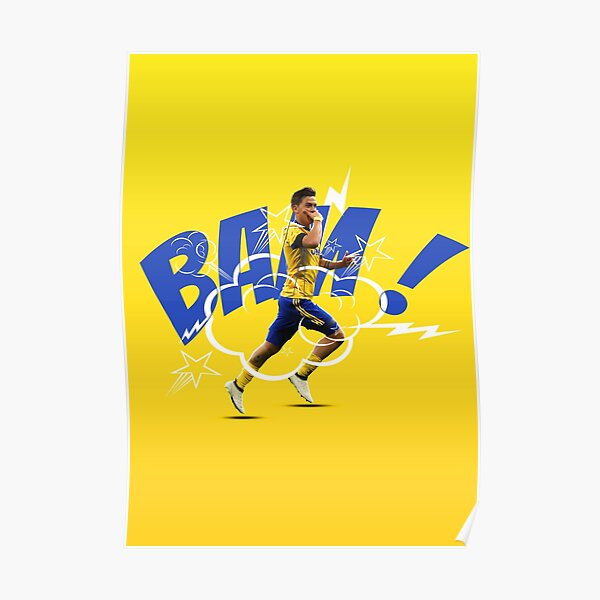 Paulo Dybala Poster Poster