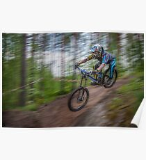 Downhill Race Poster