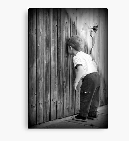 Little Peeping Tom Canvas Print