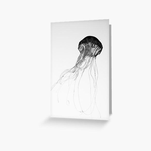 Graceful Jellyfish Greeting Card