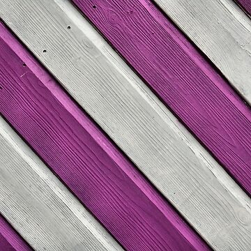 Candy Beach Stripes weathered wood by chihuahuashower