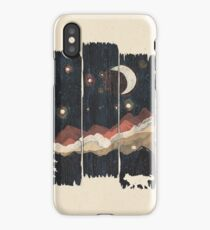 Starry Night in the Mountains... iPhone Case
