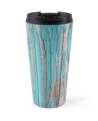 Shabby rustic weathered wood turquoise by chihuahuashower