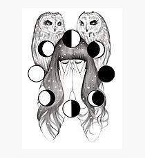 Moon Spells Photographic Print