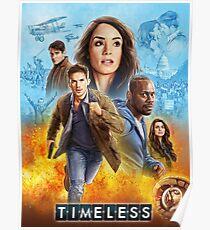 Timeless Tv Show Poster Design Poster