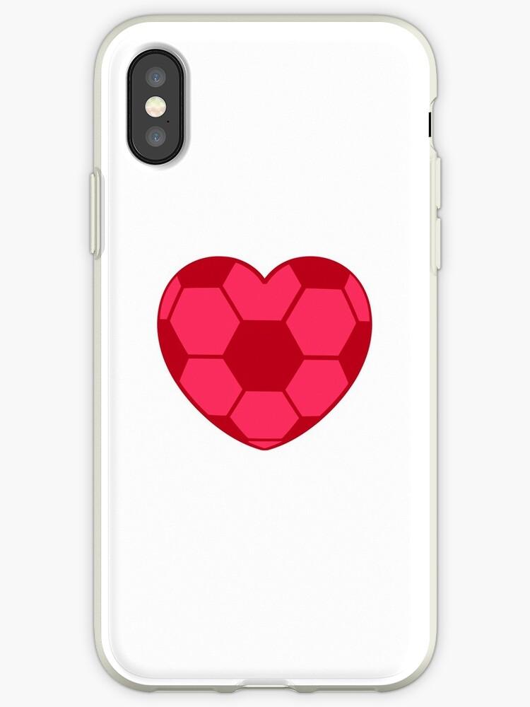 pink soccer heart   soccer heart