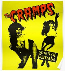 The Cramps - Smell of female Poster