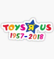 Toys R us Sticker