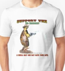 Support the 2nd Amendment Cowboy Turtle Unisex T-Shirt