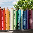 Pencils Gate by Yair Karelic