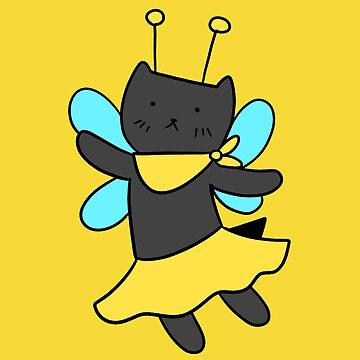 Bee Fairy Cat by SaradaBoru