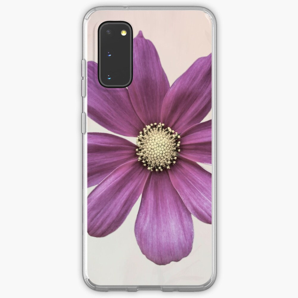 Purple Cosmos Flower Case & Skin for Samsung Galaxy