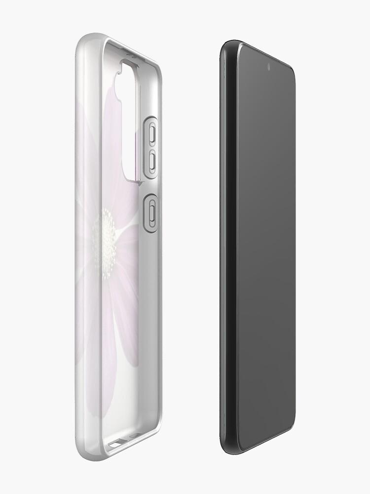 Alternate view of Purple Cosmos Flower Case & Skin for Samsung Galaxy
