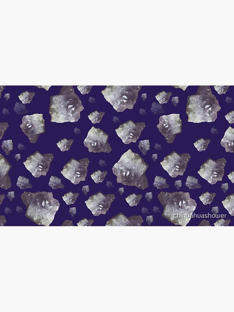 Amethyst chunks by chihuahuashower