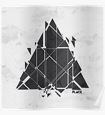 PLACE Sci-Fi Triangle Poster