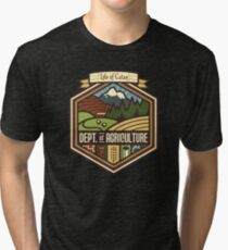 Settlements Welcome Tri-blend T-Shirt
