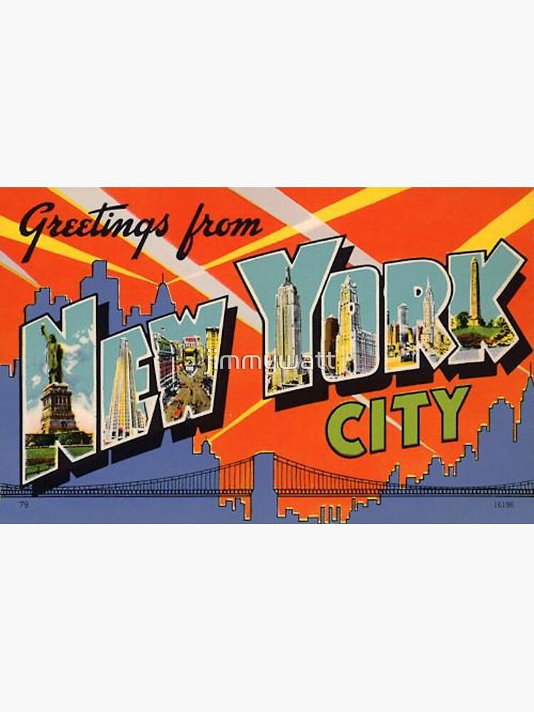 New York City Vintage by jimmywatt