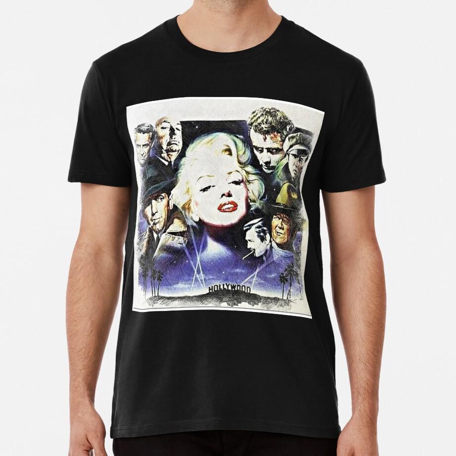 Hollywood Old Stars Premium T-Shirt