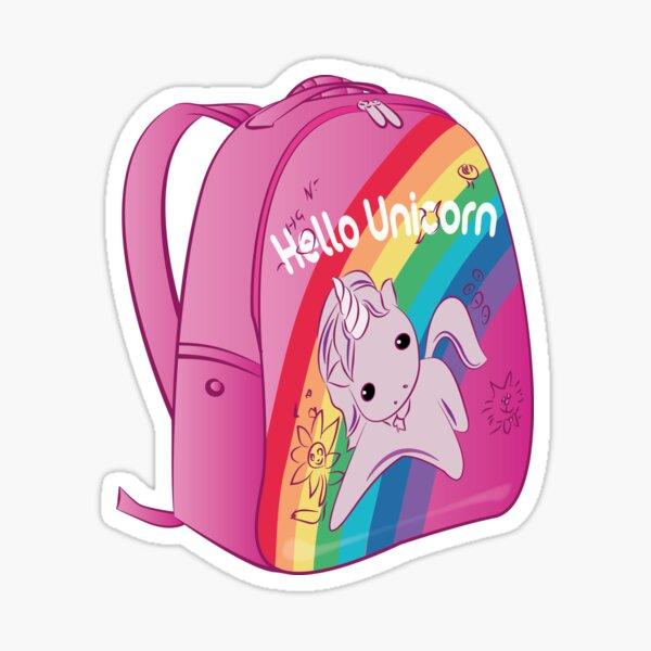 Hello Unicorn Sticker