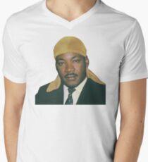 Martin Luther King Men's V-Neck T-Shirt