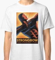 RETRO ADVERTISING POSTER- STRONGBOW CIDER Classic T-Shirt