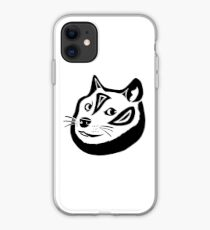 Tribalish Doge iPhone Case