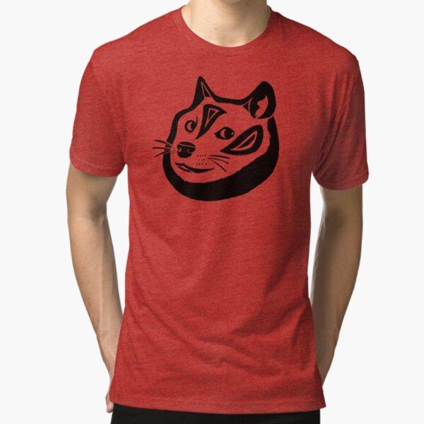Tribalish Doge Tri-blend T-Shirt