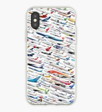 Airliners by The Art of Flying iPhone Case