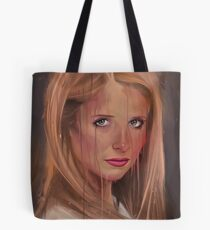 What are you drawing Ryan? // 382. Buffy The Vampire Slayer Tote Bag
