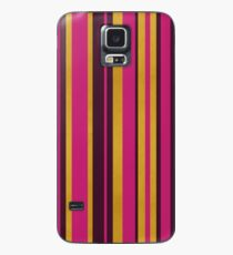Gold Stripes Case/Skin for Samsung Galaxy