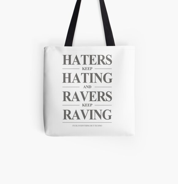 Keep Raving #1 Allover-Print Tote Bag