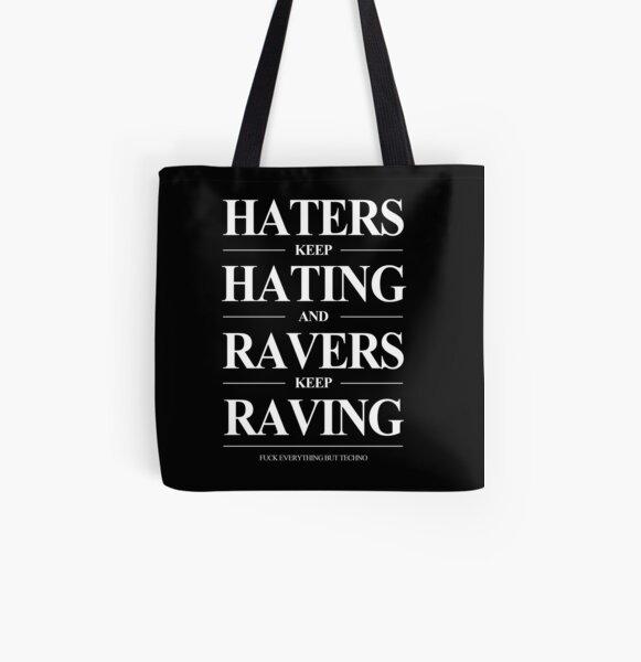 Keep Raving #2 Allover-Print Tote Bag