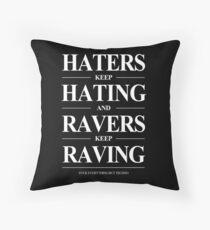 Keep Raving #2 Kissen