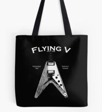 The Flying V Tote Bag