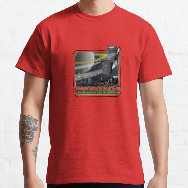 Swamp Music Players, star fighters arcade space saturn art Classic T-Shirt