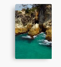 Whale Rock - North Stradbroke Island Canvas Print