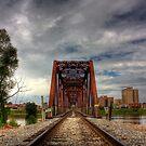 Train Bridge (HDR) by steini