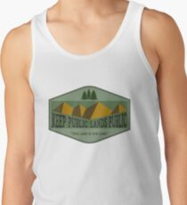 This Land is Your Land - Green Tank Top