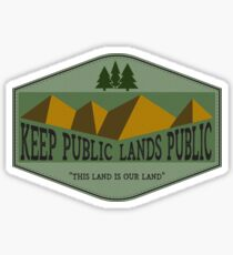 This Land is Your Land - Green Sticker