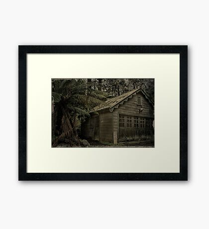 The Shed (circa 1900) Framed Print