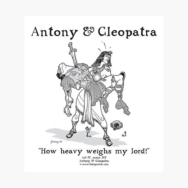 ANTONY & CLEOPATRA Photographic Print