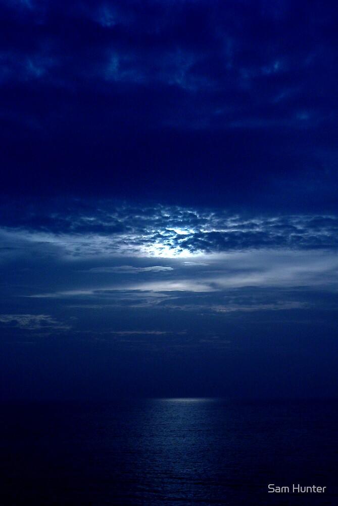 Blue sky by Sam Hunter