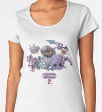 Poison-Type Pokemon Women's Premium T-Shirt