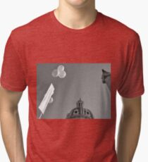 Rome: Dome with ballons Tri-blend T-Shirt