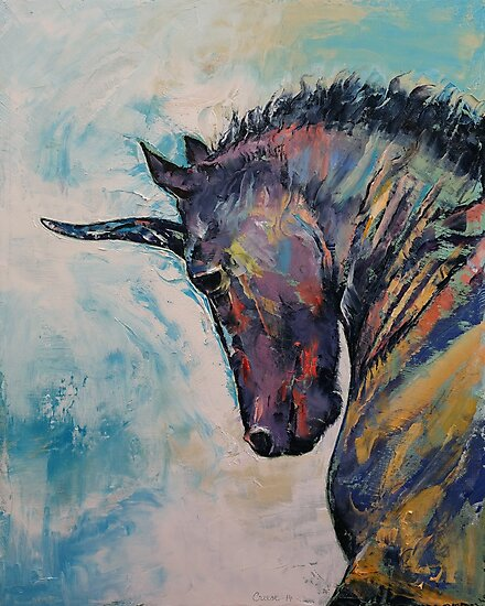 Dark Unicorn by Michael Creese
