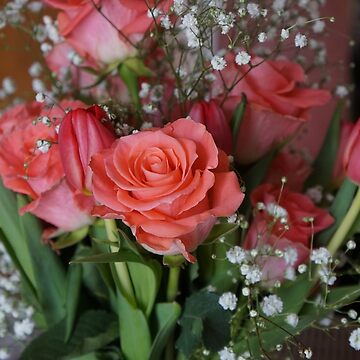 ROSES, TULIPS, AND BABY'S BREATH by pjm286