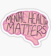 Psychische Gesundheit Sticker