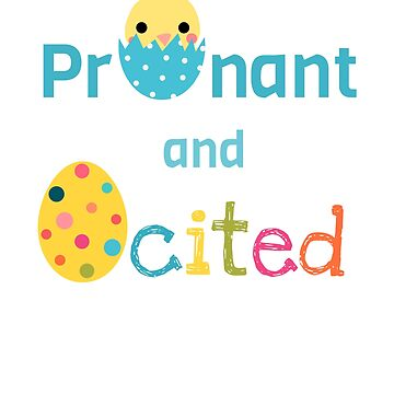 Easter Pregnancy Announcement  by Pravokrugulnik